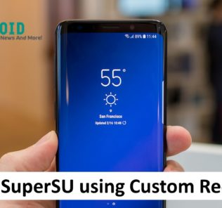 download and install supersu using custom recovery